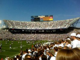 Beaver Stadium by Raviskool