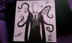 Slender Sketch by EnvyOfTheNight