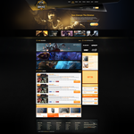 Copenhagen Wolves Web Template by BorisWick