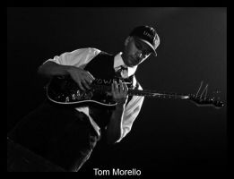 Tom Morello rocking out by goldmines