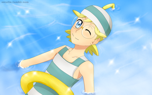 Clemont on the water by delusionaleggy