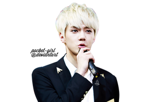 EXO-K Sehun PNG Render [REQUEST] by pocket-girl