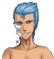 Grimmjow by MakuTheSpaceArtist