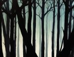 Welcoming silence (Fog in the Forest III) by VoodooDollyArtwork