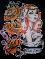 ginger tattoo by PsYcHoGrEenMoNsTeR