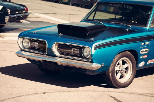 1968 Plymouth Barracuda by AmericanMuscle
