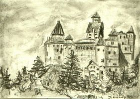 castle bran - romania by ScullyNess
