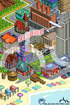 Isometric city by rbl3d