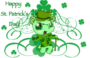 Flippy Saint Patrick by deenukiza