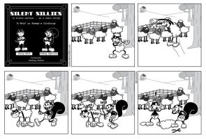 Silent Sillies 099 - A Wolf in Sheep's Clothing by JK-Antwon