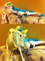 Haku Dragon Plush by Irukasdove