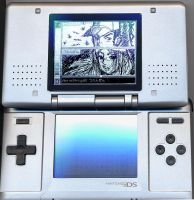 Nintendo DS PICTOCHAT by tsenzen