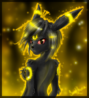 Umbreon by SweetLhuna