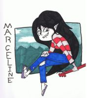 Marceline the Vampire Queen by AnimationsByRobert