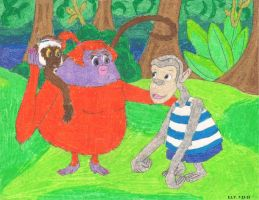 Primate Meet and Greet by SummerShe-Wolf