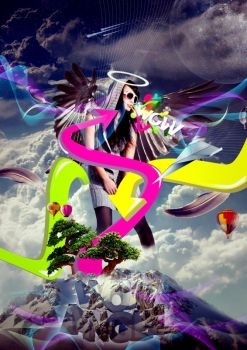 wow angel by overminded-creation