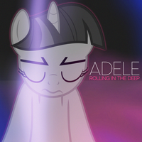 Adele - Rolling in the Deep (Twilight Sparkle) by AdrianImpalaMata