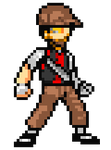 {Jump! Ultimate Stars Sprite} Spay by UniTheLucario