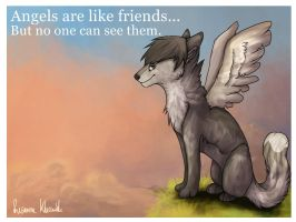 Angels are like friends... by Renkat