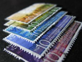 Hong Kong Stamps by pickymice