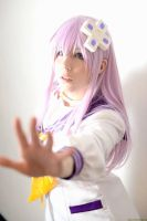 Hyperdimension Neptunia mk2 Nepgear Cosplay by K-I-M-I