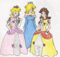 Princess, P, D, R by StarandCake