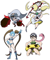 Kill La Kill La Sketchdump by Shenaniganza