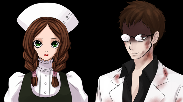Maria and Dr. Alfred Drevis by TimeRecordTheVIII