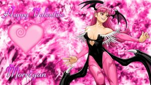 Happy Valentine Morrigan by WhiteAngel50000