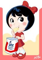 UTZ Potato Chip Girl by kevinbolk