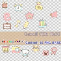 Kawaii PNG Pack by Sefviaa2