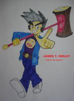 James T. Smiley - Smile by TashiCat