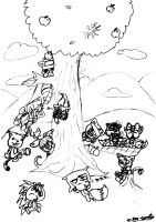 Tree of HTFF by HTF-Characters
