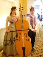 AnimeNEXT2014- The prince and the musician by Robinsu