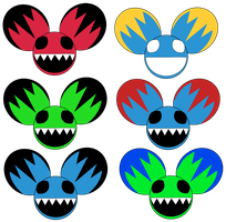 Deadmau5 Designs For Cookie by NeroStreet