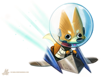 Daily Paint #994. Star Fox Sixty Fouuuuuuur (FA) by Cryptid-Creations