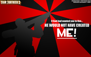 TF2 Soldier Wallpaper by Drick96