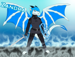 Zandra The Dragoness (Clothed) by shadow-recon-666