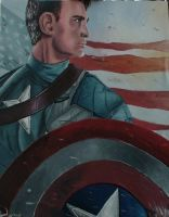 CAPTAIN AMERICA by Mewax42