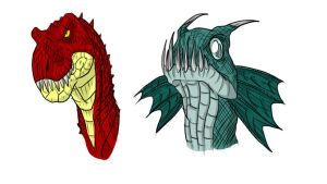 heads by GoreReptil