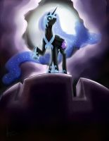 Nightmare Moon Commission by SaraV-Art