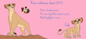 Rane Reference sheet *Gift* by WLC-Photography