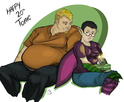 Happy Birthday Tonic by Empty-Brooke