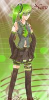 Vocaloid Naru by Le-Vampire-Cat