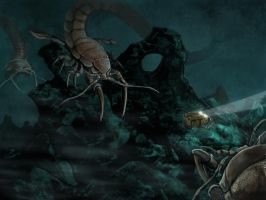 Isopods by omonteon
