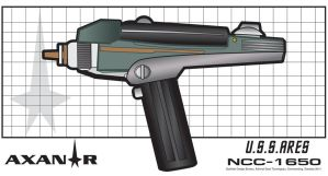 Axanar Phase Pistol Concept by stourangeau
