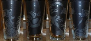 Annie League of Legends Etched Glass by Clinkorz