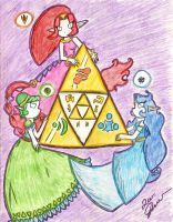 -:Great Goddesses of Hyrule:- by Ppeacht
