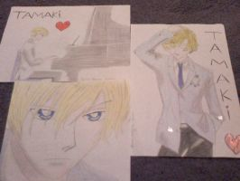 Tamaki drawings 8D by AshXDawn4Ever