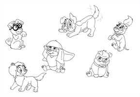 All Puppies Go To Heaven by SharpAnimationInc